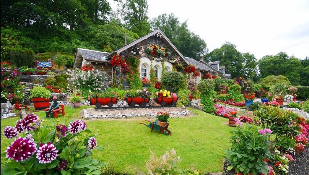 Natural and Beautiful Garden Ideas