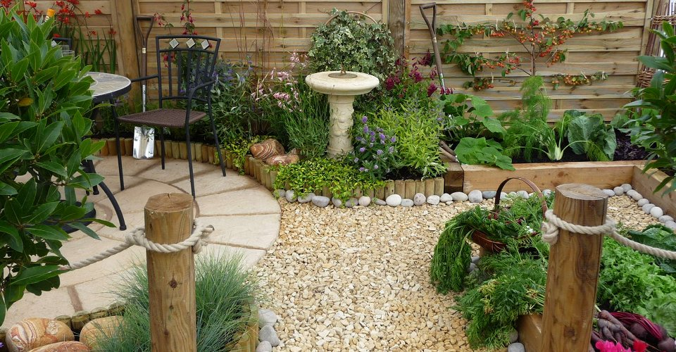 How to make a beautiful oriental style garden